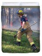 Firefighter 2901 Duvet Cover