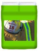 Firefighter Still Life Duvet Cover