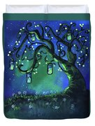 Fireflies Duvet Cover