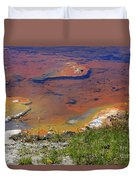 Firehole Lake Yellowstone National Park Duvet Cover
