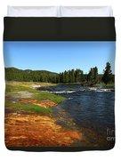 Firehole River Colors Duvet Cover