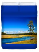 Firehole River Duvet Cover