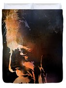 Firelight Duvet Cover