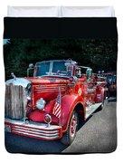Fireman - 1949 And It Still Runs  Duvet Cover