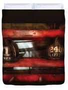 Fireman - A Salute To The Firefighter Duvet Cover