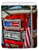 Fireman - Fire Truck Duvet Cover