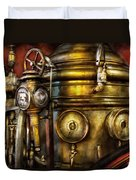 Fireman - The Steam Boiler  Duvet Cover