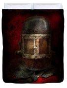 Fireman - The Mask Duvet Cover