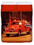 Fireman's Parade No. 3 Duvet Cover
