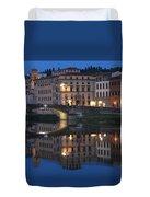 Firenze Blue I Duvet Cover