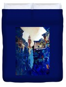 Firenze Street Study Duvet Cover