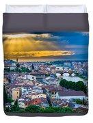 Firenze Sunset Duvet Cover
