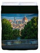 Firenze Vista Duvet Cover