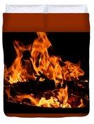 Firepit Duvet Cover