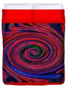 Fires Of Evil Wants Mother Earth Duvet Cover