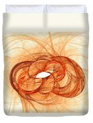 Fires Of Fusion Duvet Cover