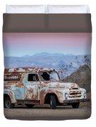 Firestone Truck Duvet Cover