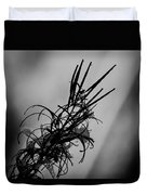 Fireweed Bw Duvet Cover