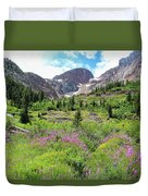 Fireweed Frenzy Duvet Cover