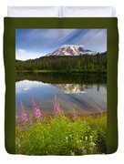 Fireweed Reflections Duvet Cover