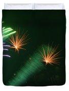 Firework Abstract Duvet Cover