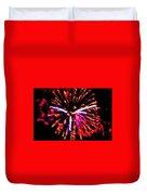 Fireworks 102 Duvet Cover
