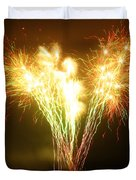 Fireworks 2 Duvet Cover by Oliver Johnston