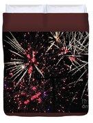 Fireworks 2018 Duvet Cover