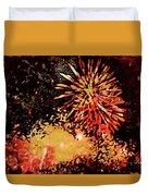 Fireworks 4 Duvet Cover