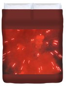 Fireworks A Different Persoective One Duvet Cover