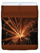 Fireworks A Different Perspective Seven Duvet Cover