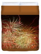 Fireworks Abstract IIi Duvet Cover