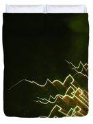 Fireworks As Art Ten Duvet Cover