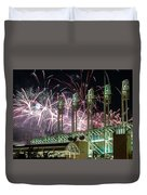 Fireworks At The Jake Duvet Cover