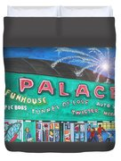 Fireworks At The Palace Duvet Cover