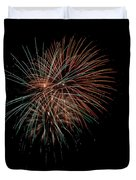 Fireworks Duvet Cover by Christopher Holmes