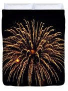 Fireworks - Gold Dust Duvet Cover