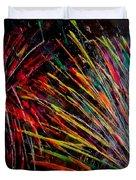 Fireworks In Bled Duvet Cover