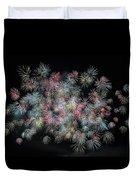 fireworks in Japan Duvet Cover
