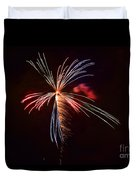 fireworks in Japan Duvet Cover
