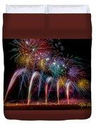 Fireworks Line Duvet Cover