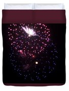 Fireworks Over Puget Sound 10 Duvet Cover
