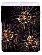 Fireworks - Purple Power Duvet Cover