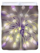Fireworks  Wildflowers Duvet Cover