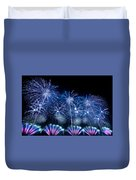 Fireworks Duvet Cover