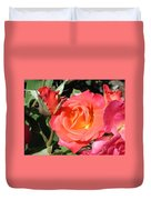 Firey Passion Rose Duvet Cover