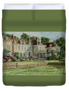 Firle Place England Duvet Cover