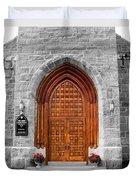 First Congregational Church Duvet Cover