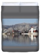 First Day Of Spring Bucks County Playhouse Duvet Cover