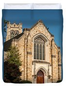 First Evangelical Presbyterian Church Duvet Cover